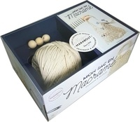 Sophie Valenza - Mon sac en macramé - Avec 1 bobine de corde de coton et 3 perles en bois.
