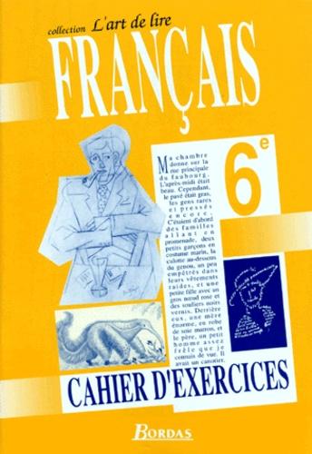 Francais 6eme Cahier D Exercices