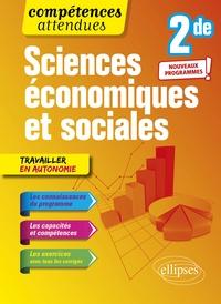 Lire des livres populaires en ligne gratuit sans téléchargement Sciences économiques et sociales 2nde 9782340036024 par Sophie Villaume