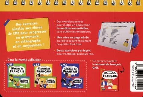 Exercices De Francais Cm1 De Sophie Wenisch Labareyre Poche Livre Decitre