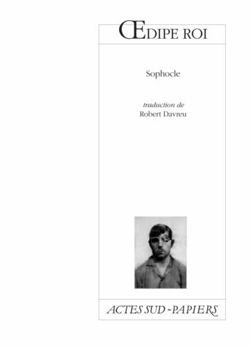 Oedipe roi - Sophocle - Format PDF - 9782330110369 - 7,99 €