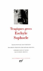 Sophocle et  Eschyle - Tragiques grecs.