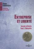 Soraya Amrani Mekki - Entreprise et liberté - Journée nationale Tome 10 / Montpellier.