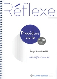 Soraya Amrani-Mekki et  Droit & Procédure - Procédure civile.