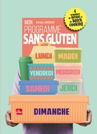 Ebook deutsch kostenlos à télécharger Mon programme sans gluten 9782842216559 CHM RTF PDB in French par Soraya Aouidad