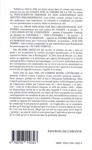 Oeuvres complètes. Tome 8, Trois discours sur des circonstances supposées ; Quatre articles ; Un compte rendu littéraire (1845-1846)