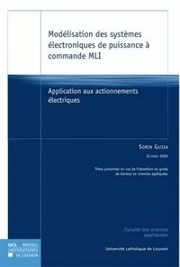 Modélisation des systèmes électroniques de puissance à commande MLI- Application aux actionnements électriques - Sorin Gusia | Showmesound.org