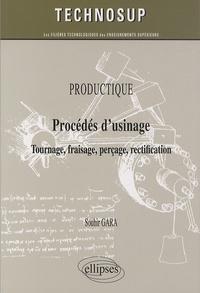 Accentsonline.fr Productique - Procédés d'usinage - Tournage, fraisage, perçage, rectification Image