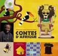 Souleymane Mbodj et Virginie Guérin - Contes d'Afrique. 1 CD audio