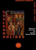 Soumya Ammar Khodja et  Collectif - Couleurs solides - Textes et paroles pour deux pays.