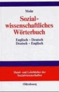 Sozialwissenschaftliches Wörterbuch - Englisch-Deutsch / Deutsch-Englisch.