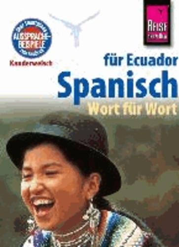 Spanisch für Ecuador, Wort für Wort.