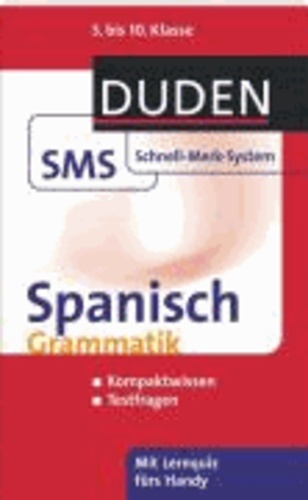 Spanisch Grammatik - 5. bis 10. Klasse.