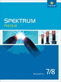 Spektrum Physik 7 / 8. Schülerband. Niedersachsen - Ausgabe 2013.
