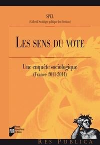 SPEL - Les sens du vote - Une enquête sociologique (France, 2011-2014).