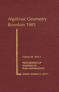 Spencer J. Bloch - Algebraic Geometry Bowdoin 1985 - Part 2.