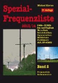 Spezial-Frequenzliste 2013/14 - Band 2.