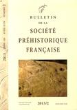 Claire Manen - Bulletin de la société préhistorique française Tome 110 N° 2, Avril : .