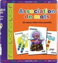 SpiceBox - Association de mots - 26 cartes puzzle.