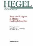 Staat und Religion in Hegels Rechtsphilosophie.