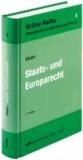 Staats- und Europarecht.
