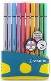 STABILO - Colorparade 20 feutres Pen 68 coloris ass. dont 10 pastels