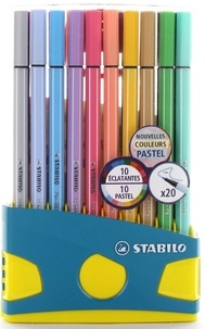 STABILO - Colorparade 20 feutres Pen 68 coloris ass. dont 10 pastels