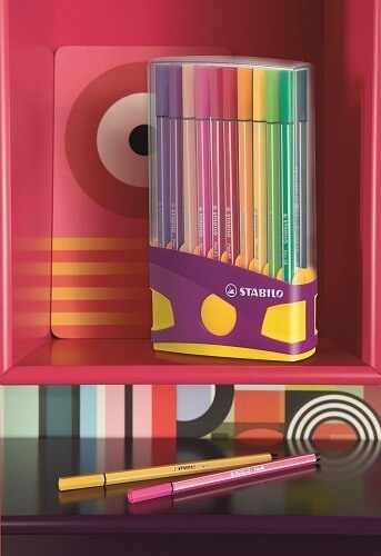 Feutres Pen 68 Colorparade /20 lilas