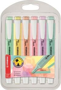 STABILO - Pochette 6 surligneurs Swing Cool Color Pastel