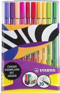 STABILO - rdc colorparade pen 68 x20 ed limitee
