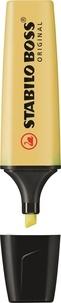 STABILO - Surligneur Stabilo Boss Pastel crème de jaune