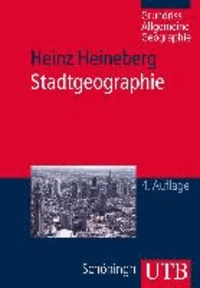 Stadtgeographie.