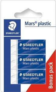 STAEDTLER FRANCE - Lot de 2 mini-gommes + 1 gratuite Mars