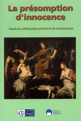 Stamatios Tzitzis et Bjarne Melkevik - La présomption d'innocence - Tome 4.
