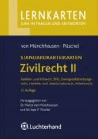 Standardkarteikarten Zivilrecht 2. Teil 1. ZPO - ZPO, Zwangsvollstreckungsrecht, Arbeitsrecht, Handels- und Gesellschaftsrecht. 200 Karteikarten.