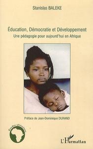 Checkpointfrance.fr Education, Démocratie et Développement - Une pédagogie pour aujourd'hui en Afrique Image