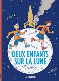 Stanislas - Deux enfants sur la lune.