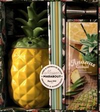 Stanislas Jouenne - L'ananas cocktail - Avec 1 ananas à cocktail unique, 8 pailles, 1 doseur.