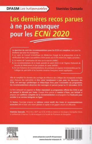 Les dernières recos parues à ne pas manquer pour les ECNi  Edition 2020