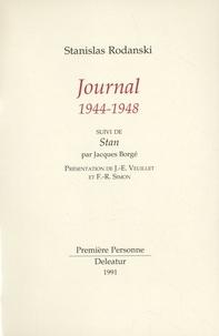 Stanislas Rodanski - Journal 1944-1948 - Suivi de Stan.