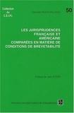 Stanislas Roux-Vaillard - Les jurisprudences française et américaine comparées en matière de conditions de brevetabilité.