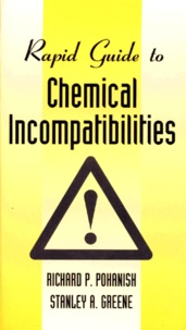 Ucareoutplacement.be RAPID GUIDE TO CHEMICAL INCOMPATIBILITIES. Edition anglaise Image