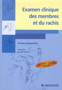 Stanley Hoppenfeld - Examen clinique des membres et du rachis.