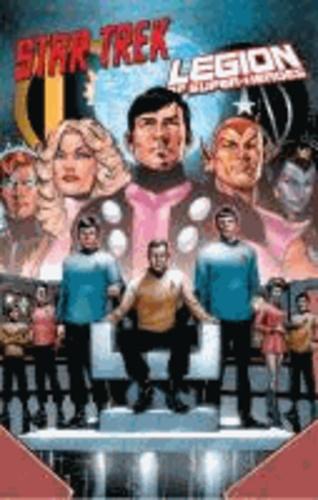 Star Trek vs. Legion of Super-Heroes.