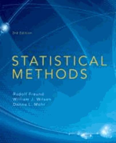 Statistical Methods.