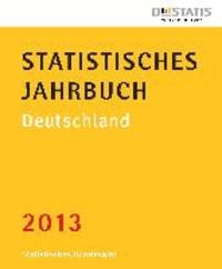 Statistisches Jahrbuch Deutschland 2013.