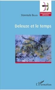 Stavroula Bellos - Deleuze et le temps.