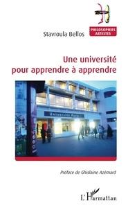 Stavroula Bellos - Une université pour apprendre à apprendre.