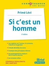 Stavroula Kefallonitis et Eric Martinez - Si c'est un homme - Primo Levi.