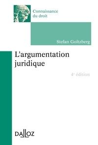 Stefan Goltzberg - L'argumentation juridique.